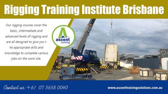 Rigging  Training Institute Brisbane