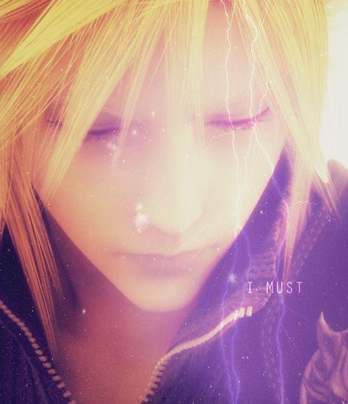 Cloud Strife. Final Fantasy VII: Advent Children Complete.