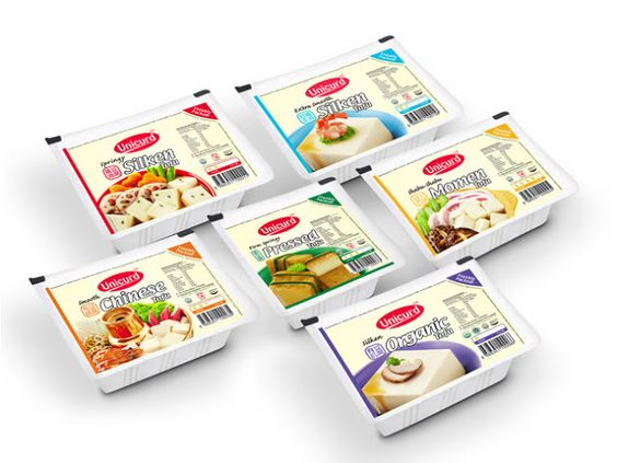 Unicurd Tofu Redesigned on Packaging of the World - Creative Package Design…