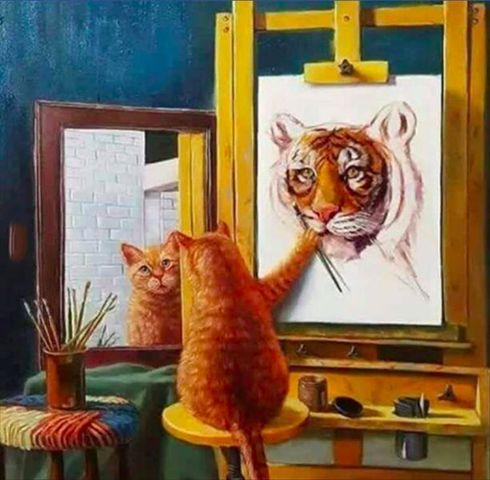 Ô¼áÃ'Æ'¦vє♡ Jen McCullen painting