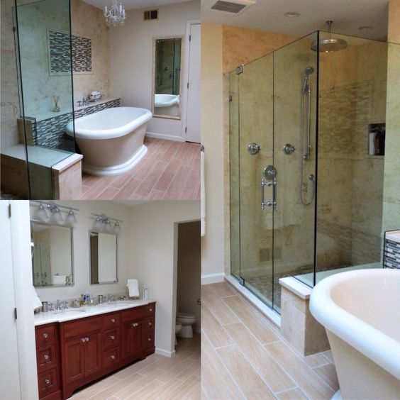 Take A Look At This Recent Bathroom Remodel That Was Designed With