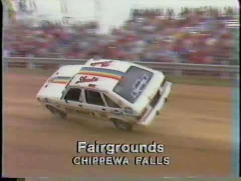 JOIE CHITWOOD THRILL SHOW Print Brockton stunt Hell Drivers race car daredevil
