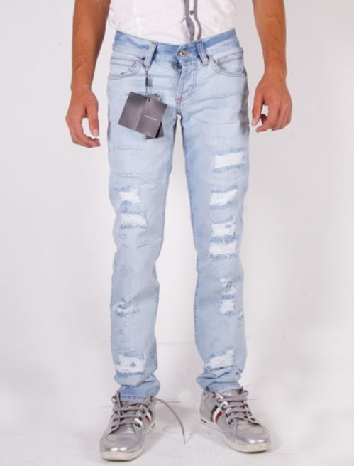 Men's ripped jeans | My style | Pinterest | Ripped jeans and Jeans