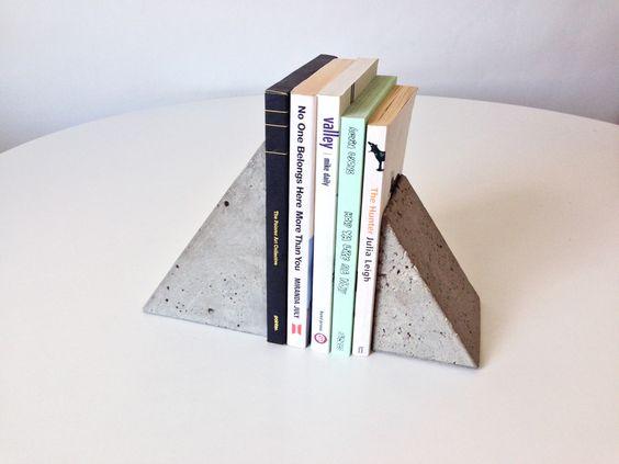 Concrete Bookends - Nicoll + Ferguson