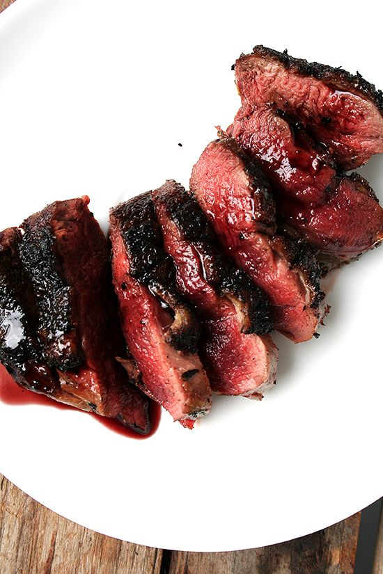 Date Night at Home? Seared Duck Breast with Port Wine Reduction; Duck Hunting at Pine Island in Louisiana