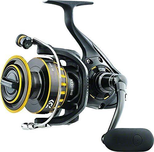 Daiwa Bg2500 Bg Saltwater Spinning Reel 2500 5 6 1 Gear Ratio 6 1 Bearings 33 20 Retrieve Rate 13 20 Lb Max Drag With Images Spinning Reels