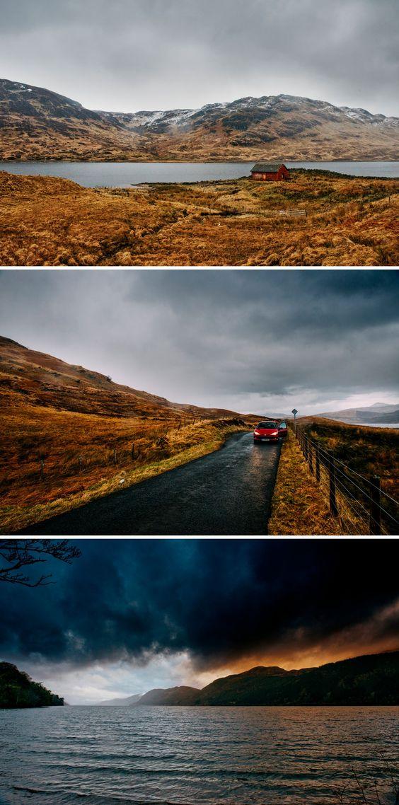 Loch Arklet and Loch Ness, Scotland - Zephyr & Luna photograhy