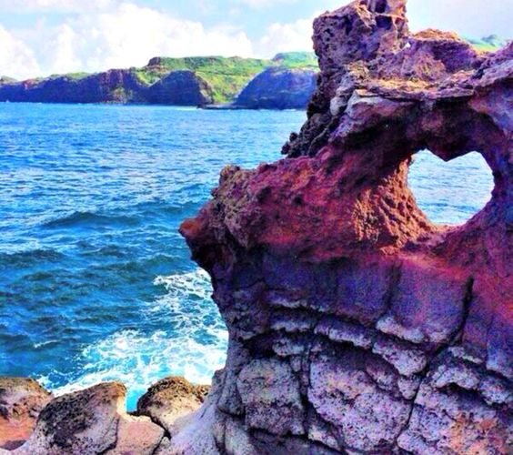Near Nakalele Blowhole, Maui, Hawaii. www.aloha-hawaiian.com #hawaii #maui…