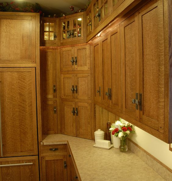 Red Oak Kitchen Cabinets: Oak Cabinets, Stains And Colors On Pinterest
