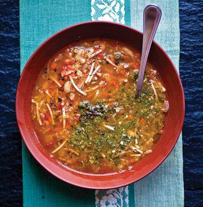 Provençal Vegetable Soup with Garlic-Basil Paste (Soupe au Pistou) Recipe   SAVEUR
