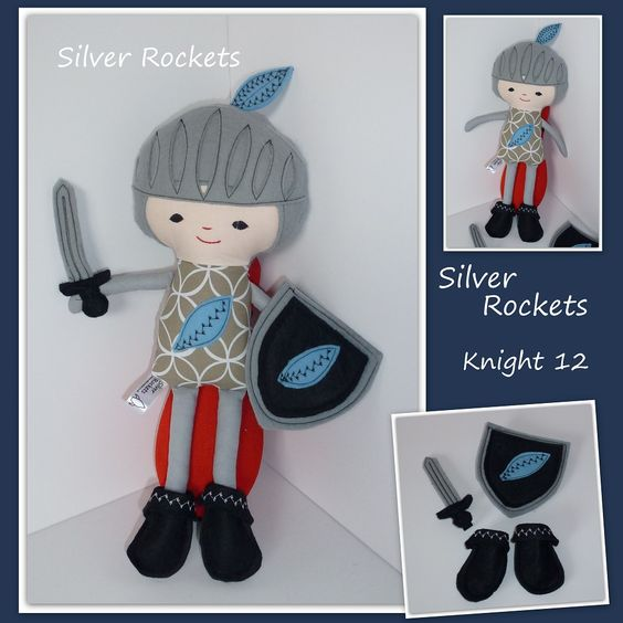 Knight buddy 34cm - CE marked - The Supermums Craft Fair