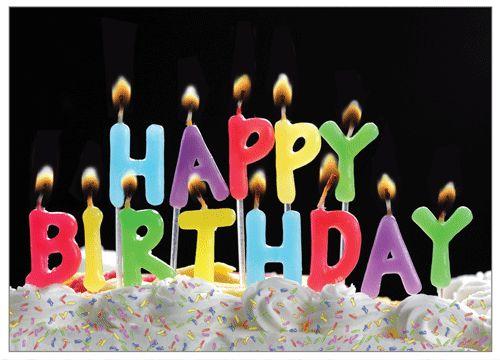 Happy Birthday Candles Animated Birthday Candle GIF   ...
