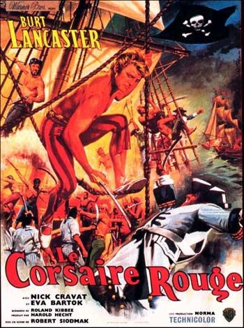 It's essentially a harmless family pirate movie that showcases the obviously athletic, acrobatic and likable Burt Lancaster and his good friend Nick Cravat. Description from scorethefilm.blogspot.co.uk. I searched for this on bing.com/images