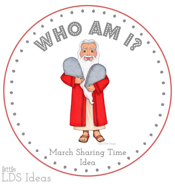 1st Week March Sharing Time Idea: Prophets Are Called by ...