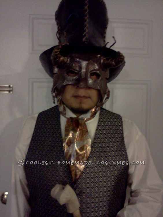 Steampunk Masquerade for a Man ...This website is the Pinterest of costumes