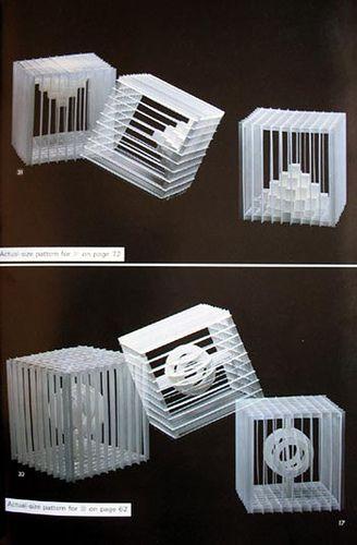 Всплывающие Геометрическая Origami - Масахиро Chatani: