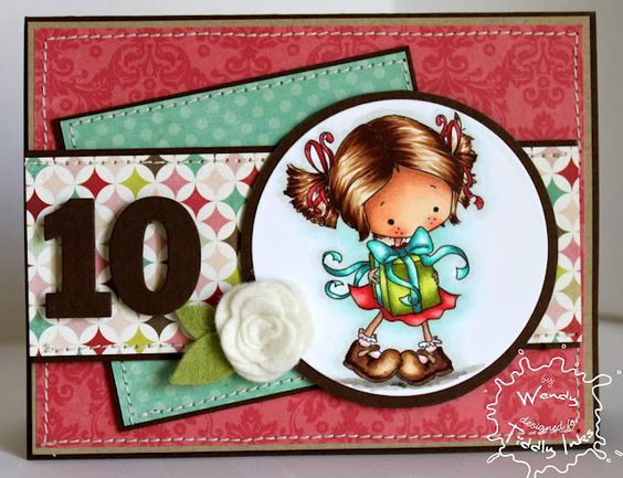 SugarPea Designs  Tiddly Inks - Lilli Clair Party Time