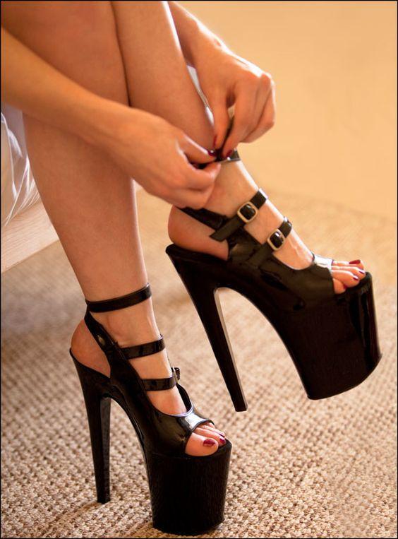 Stripper heels Exotic and Heels on Pinterest