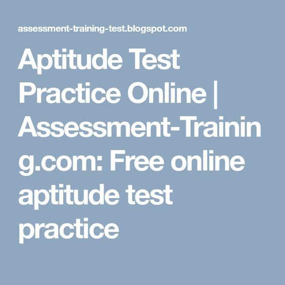 Aptitude Test Free. 64 Best Aptitude Assessment Images On