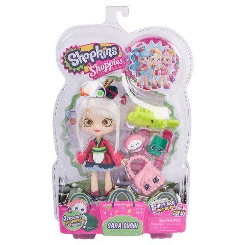 Shopkins™ Shoppies Doll Sara Sushi Shops, Shopkins and