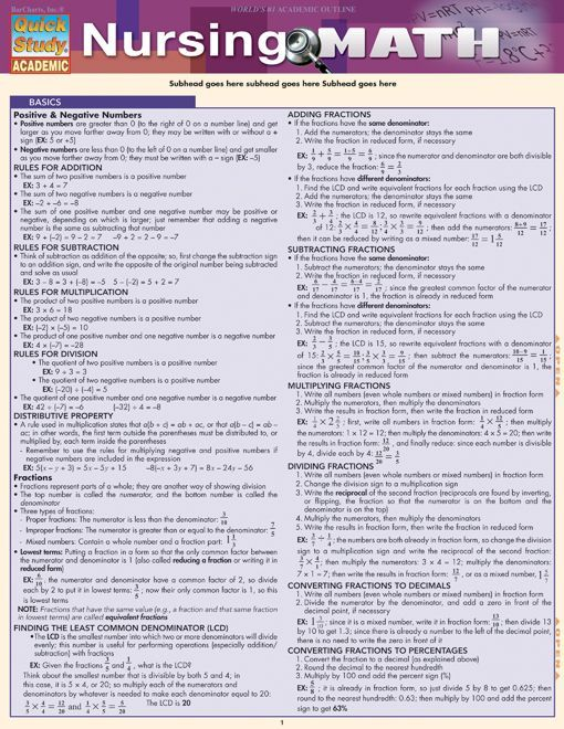 math worksheet : nursing math  nursing math nursing and math : Nursing Math Worksheets