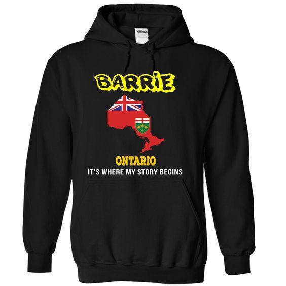 Barrie, Ontario T Shirt, Hoodie, Sweatshirt