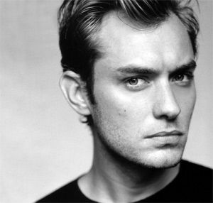 Jude Law ... love that strong jaw line!  ... The accent doesn't hurt either ;)