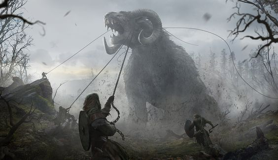 ArtStation - Ancients - Fall of Gods, JAN DITLEV
