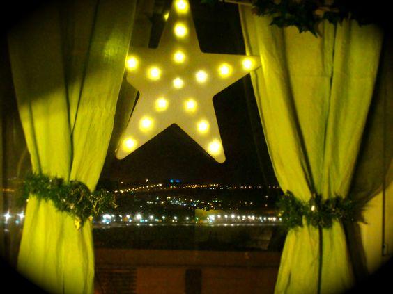 Estrella en Navidad