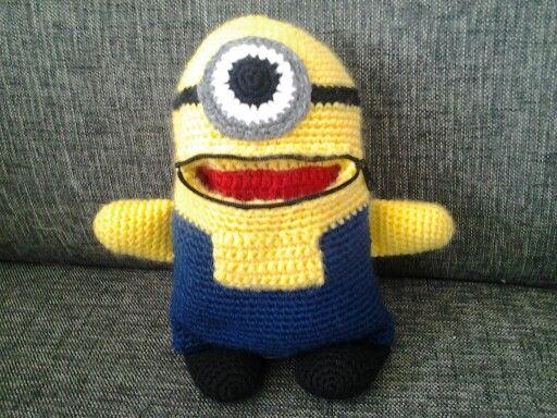 Zorgenvriendje Verschrikkelijke Ikke A A Crochet Amigurumi Haken