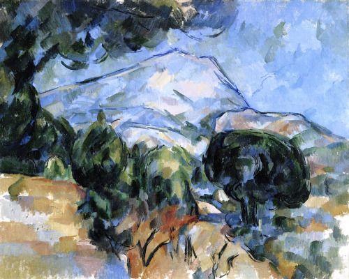 Mount Sainte-Victoire Paul Cézanne - circa 1904
