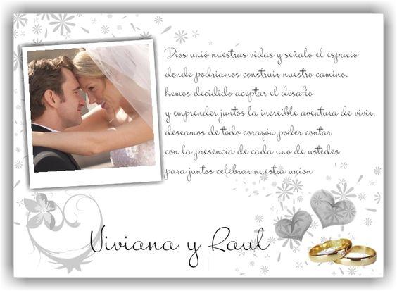 Frases originales 750 550 mensajes para - Tarjetas de invitacion de boda originales ...