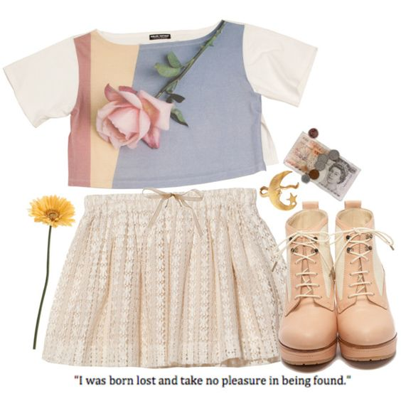 """I'm the girl you die for"" by rubylovestea on Polyvore"