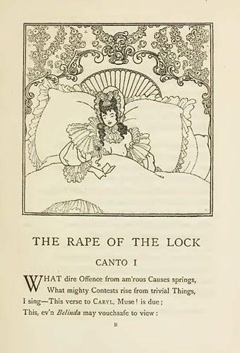 Beardsley's Rape of the Lock