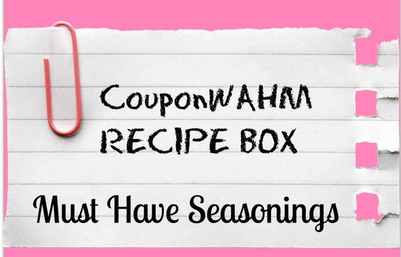 Must Have Seasonings #recipes