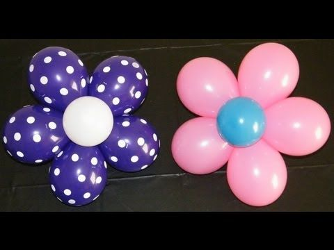 Video that shows how to make these amazing flower balloons. It is actually really easy!!