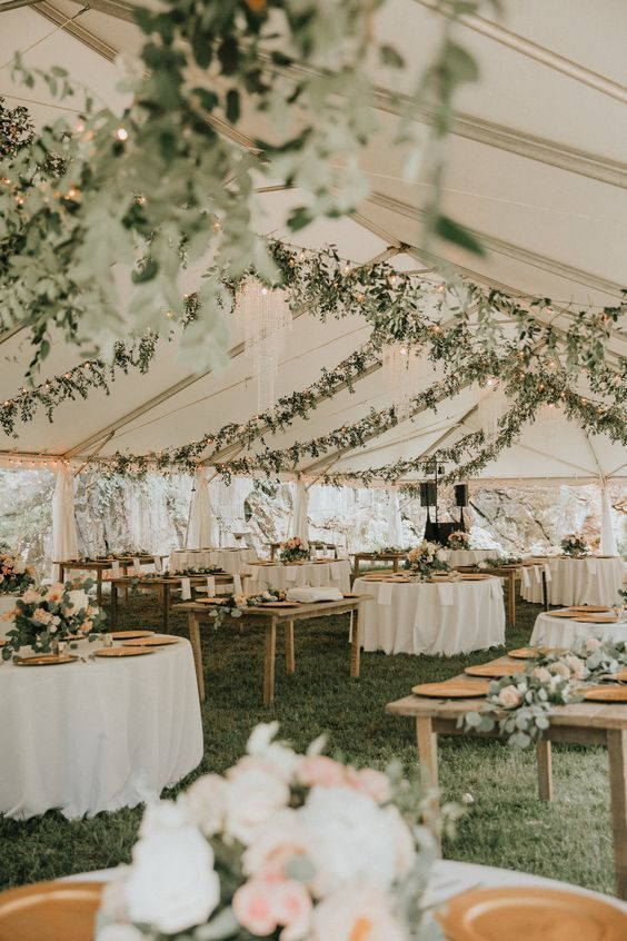Rustic Greenery Wedding D Cor Ideas Weddings Weddingdecor Rusticweddingideas Weddingideas O Outdoor Wedding Decorations Tent Wedding Green Wedding Palette