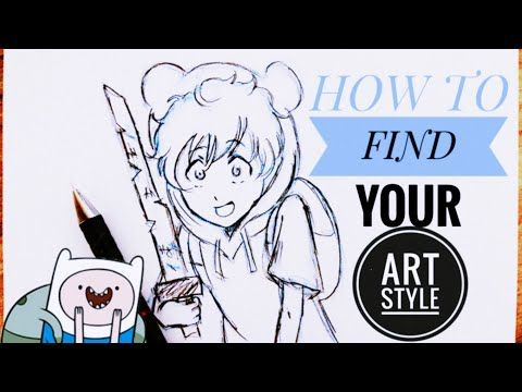 How To Find Your Art Style With Only 3 Tips Youtube In 2020 Art How To Make Drawing Fashion Art