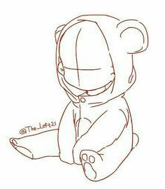 Image Result For Sitting Down Chibi Drawing Base Anime Drawings Tutorials Sketches