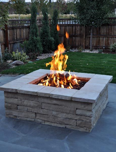 Simple Diy Round Stone Firepit One Of The Simplest Ways Is To