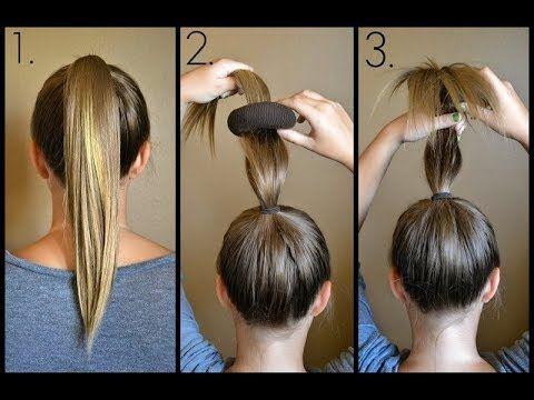 حيل و افكار ابداعية و ذكية للشعر حيل تجميلية للشعر ستسهل حياة البنات Youtube Cheveux Coiffure Coiffure Cheveux