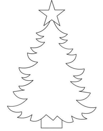 Arvore De Natal De Feltro Com Molde Para Imprimir Cores Do Natal
