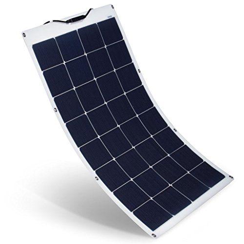 Suaoki 100w 18v 12v Solar Panel Charger Monocrystalline F Https Www Amazon Com Dp B07d4jy24k Ref Cm Solar Panel Charger Flexible Solar Panels Solar Panels