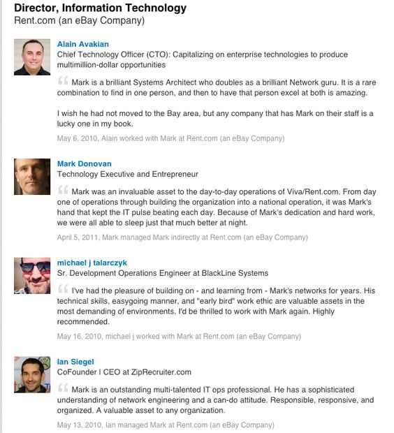 You can now reorder your #LinkedIn recommendations u2013 moving your - resume linked in