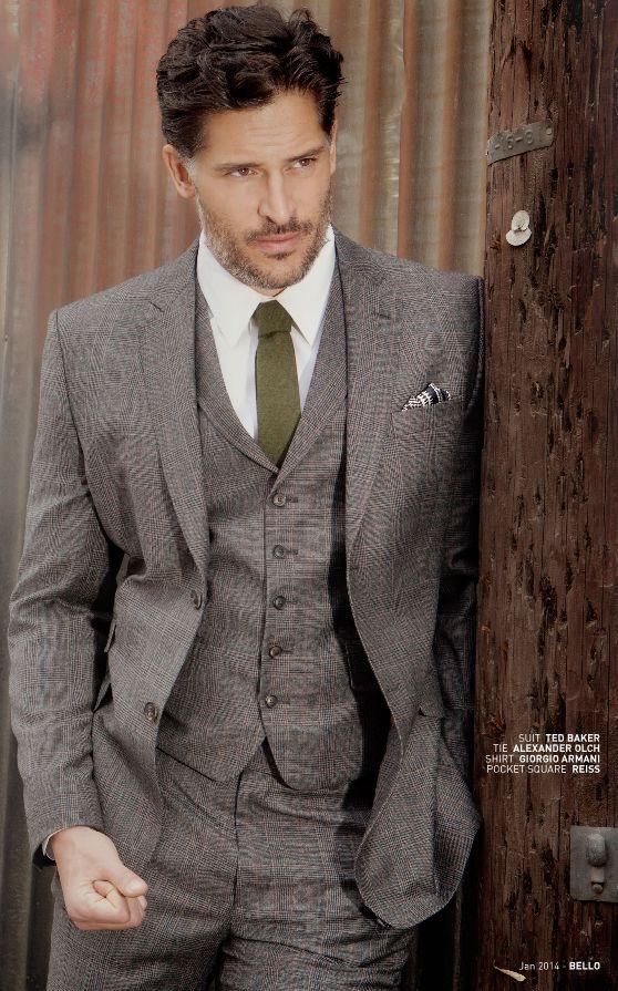 Joe Manganiello | mens style from @bello  #GetLostOnIssuu