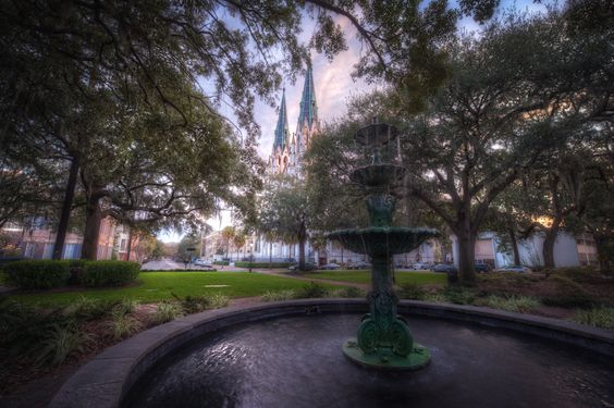 Cathedral of St John the Baptist, Lafayette Square, Savannah, GA  It has been 8 years since we have been there!