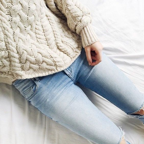denim + knit.: