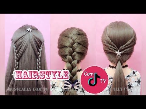 Hairstyle Challenge Tiktok Compilation Youtube Hair Styles Hairstyle Rock Hairstyles