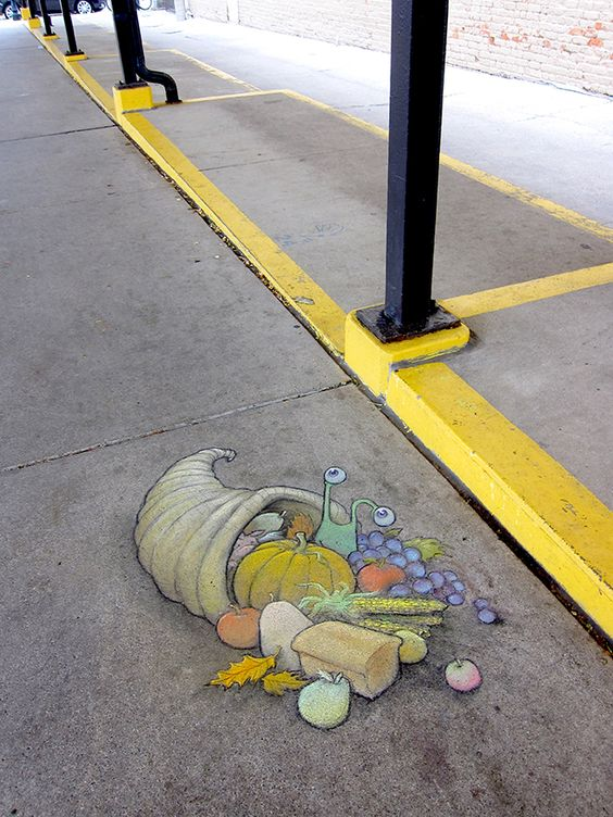 Chalk Art for All Seasons - David Zinn