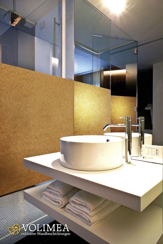volimea grandezza im badezimmer, fugenlose wandgestaltung mit, Innedesign